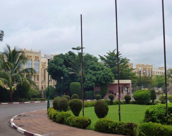 Azalai Grand Hotel: Hotel Entry