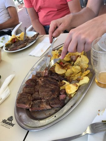 Otivar, Spain: Steak