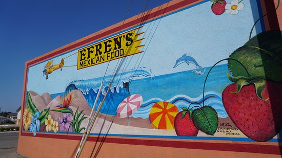 Efrin's Deli Shop: nice mural