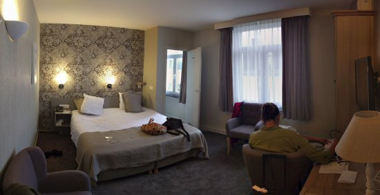 Hotel Leopold Brussels: Panoramafoto luxe kamer