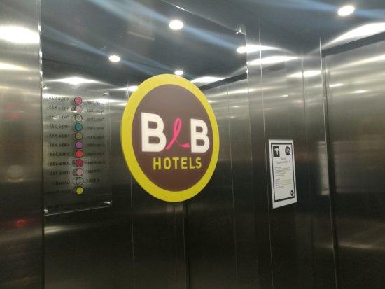 Dnas Lascenseur Picture Of BB Hotel Paris Porte Des Lilas Paris - Bandb hôtel paris porte des lilas paris