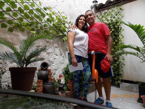 Hotel Casa Alejandria: con mi Esposa