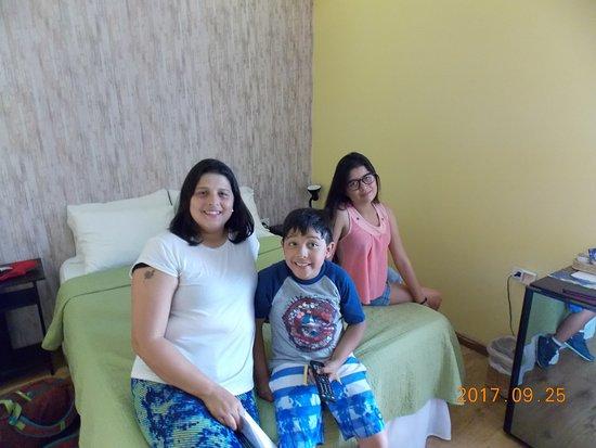 Hotel Casa Alejandria: Con mi familia