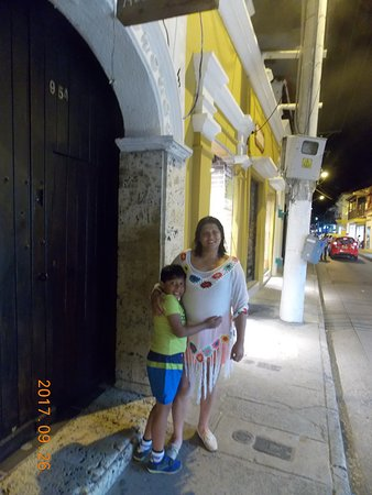 Hotel Casa Alejandria: Mi hijo y esposa