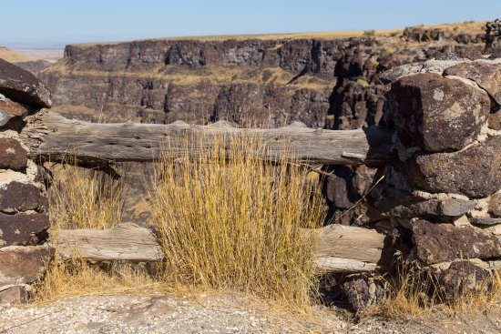 Bruneau, ID: Another spot along the overlook.