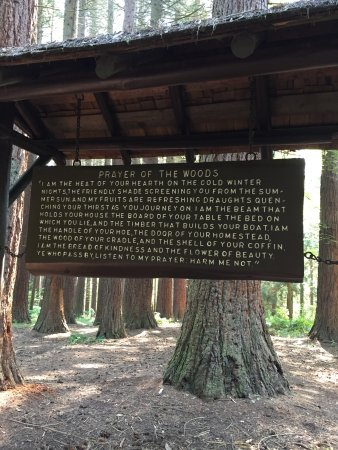 Surrey, Kanada: Prayer for the Woods