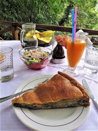 Milies, Greece: Delicious Spinach Pie