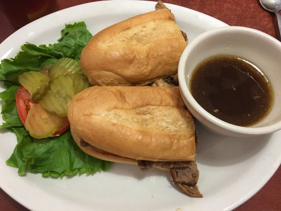 Boonville, MO: French Dip sandwich