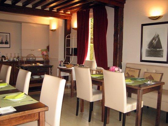 Quetteville, Франция: Frühstücksraum