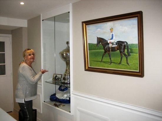 Quetteville, Франция: Dekorationen zur Pferdezucht