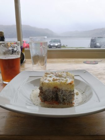 Lochcarron, UK: haggis neeps and tatties