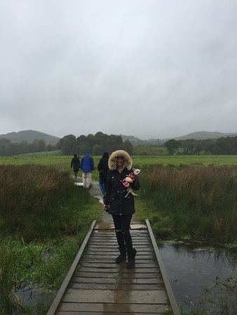 Kilmartin, UK: Rainy day