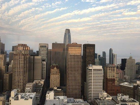Grand Hyatt San Francisco: Vista da academia