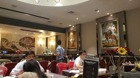 Italian style tastes and atmosphere in KLCC