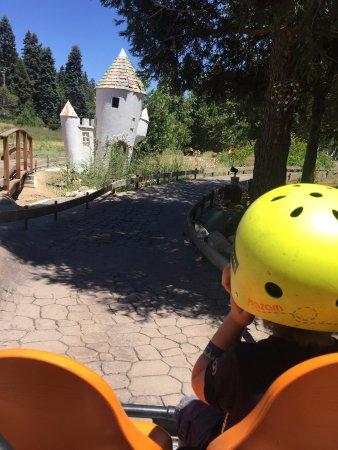Skyforest, CA: pedal cars