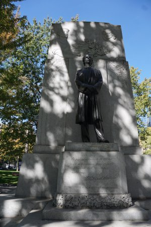 Montreal, Canadá: Monument to Wilfrid Laurier