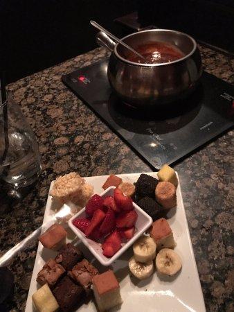 Fairview Park, Огайо: Dessert at the Melting Pot