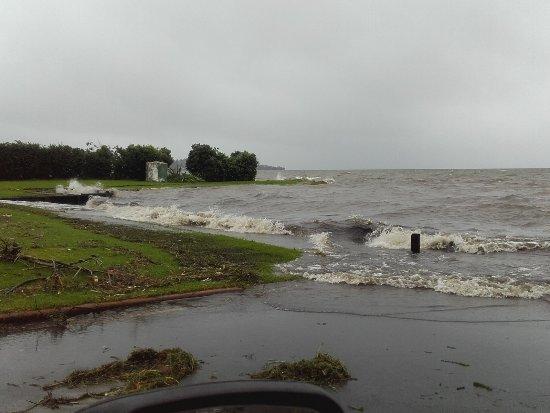 Rotorua District, New Zealand: High water