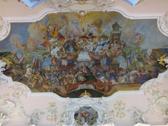 Ottobeuren, Germany: Fresco