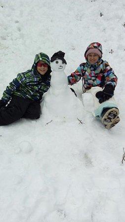 Provincia de Río Negro, Argentina: nosso boneco de neve