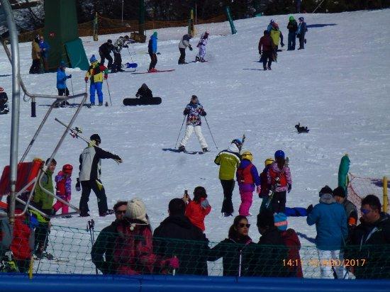 Provincia de Río Negro, Argentina: Tentando esquiar
