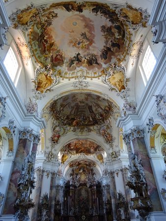Ottobeuren, Γερμανία: Basilica towards the altar