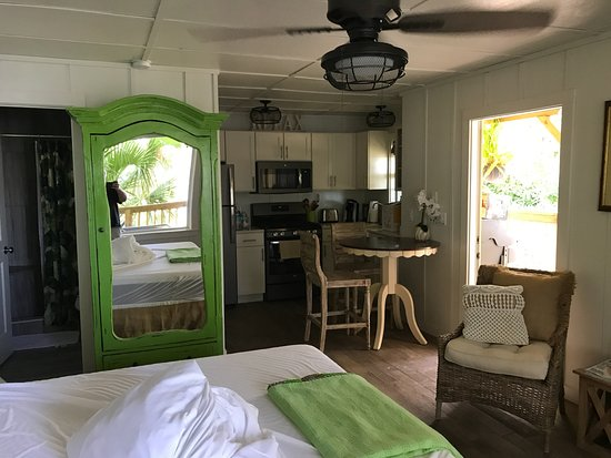 Welaka, FL: River Retreat Cottage (Check out day, room unmade)