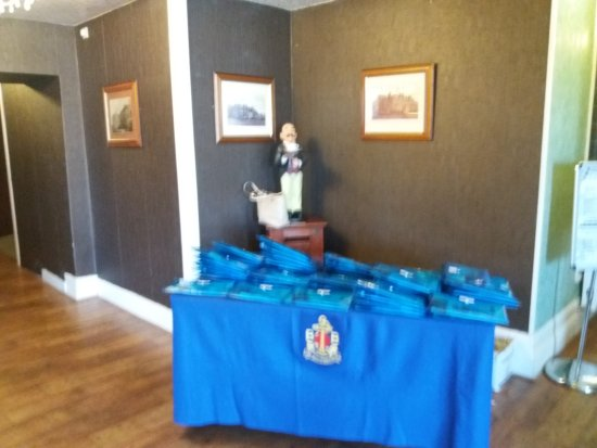 Lossiemouth, UK: North Scottish Area Boys' Brigade Conference at the Stotfield