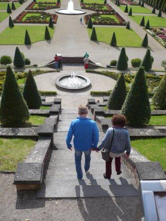 Kamp-Lintfort, Germany: Ausblick auf die Garten-Anlage.
