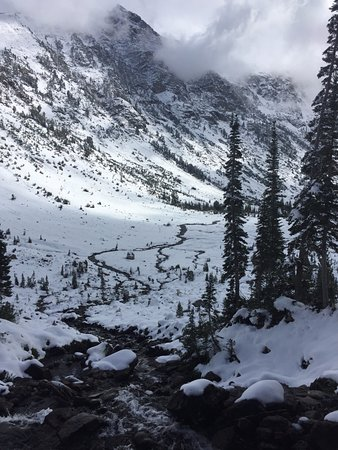 Cascade Canyon, North Fork - about a half mile from Lake Solitude