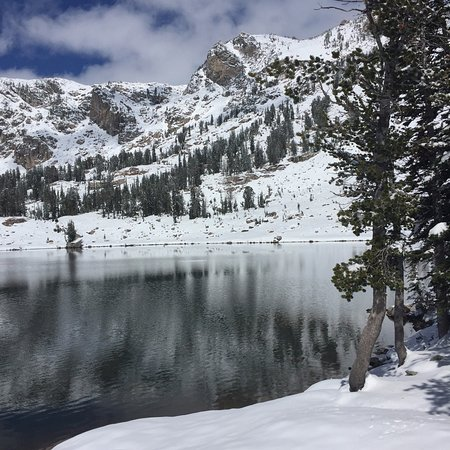 Lake Solitude, under snow, September 23