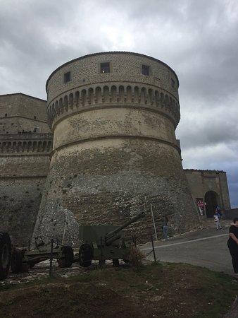 San Leo, Italie : Rocca Malatestiana