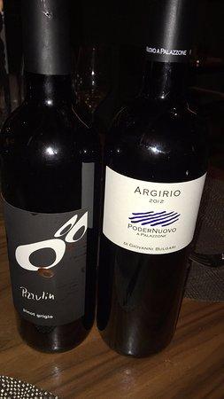 La Nicchia: Pizzulin Pinot Grigio 2015 & Argirio 2012 Cabernet Franc