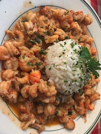 Photo of Cajun / Creole Restaurant Bon Ton Cafe at 401 Magazine St, New Orleans, LA 70130, United States