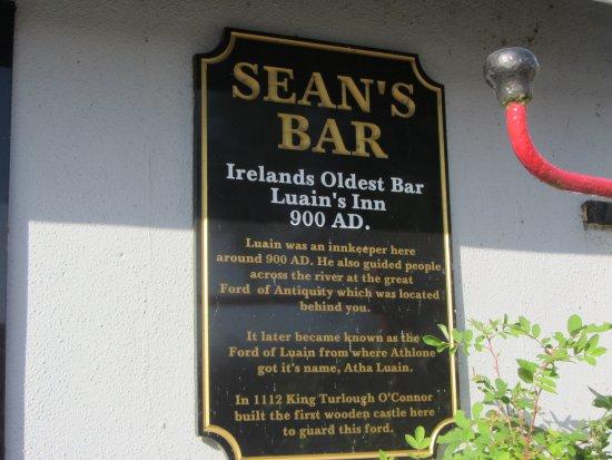 Athlone, Irlanda: Sean's Bar
