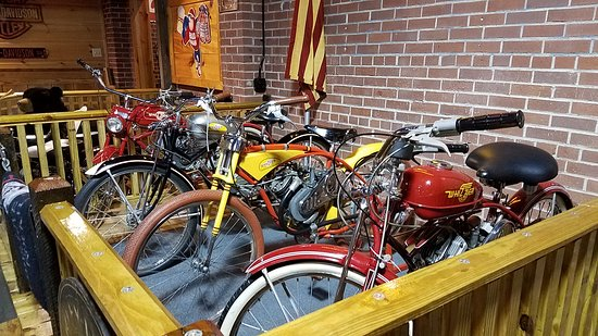 Rockmart, GA: When motorcycles were nothing but a modified bicycle.