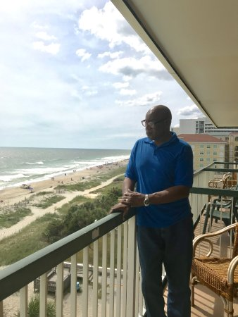 Westgate Myrtle Beach Oceanfront Resort: ... from the balcony...