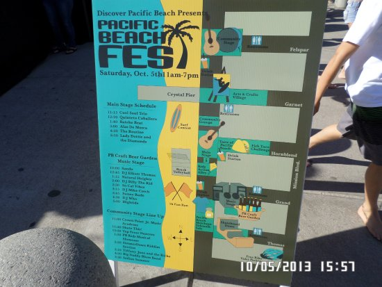 Kono's Cafe: Pacific Beach Fest. 1st Saturday in October! BE READY: Get your KONOS early!