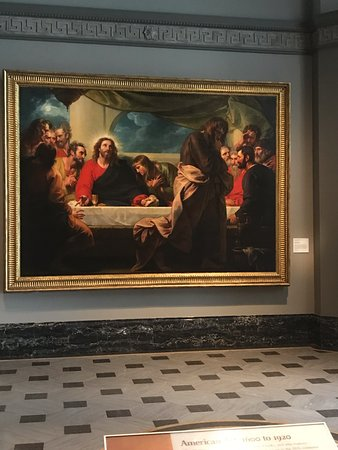 The Last Supper 1786 By Benjamin West Picture Of