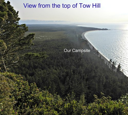 Agate Beach Campground Photo Taken Atop Tow Hill Look Out