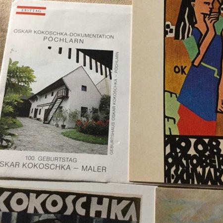 OK, Oscar Kokoshka's house, 100 Geburtstag Pochlarn