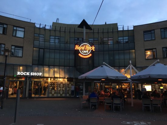 hard rock cafe amsterdam picture of hard rock cafe amsterdam amsterdam tripadvisor. Black Bedroom Furniture Sets. Home Design Ideas