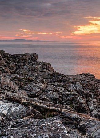 Southwest Harbor, ME: Sunrise on Great Head