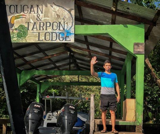 Toucan & Tarpon: Ever bidding us farewell from the dock.