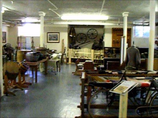 Peshtigo, WI : Interior of museum
