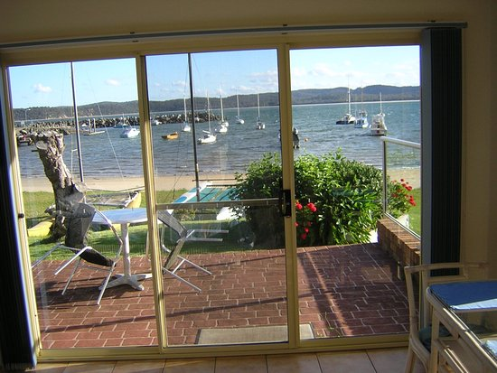 Quarantine Bay Beach Cottages: Room with a view
