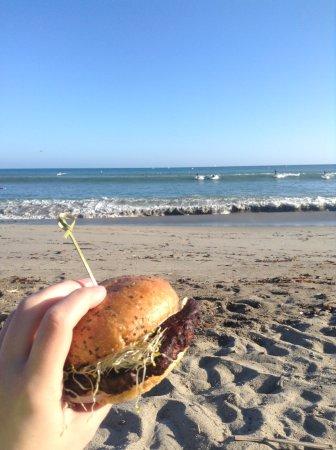 Dana Point, CA: bean burger