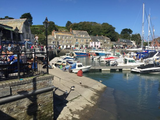 The Atlantic Hotel: Padstow Harbour