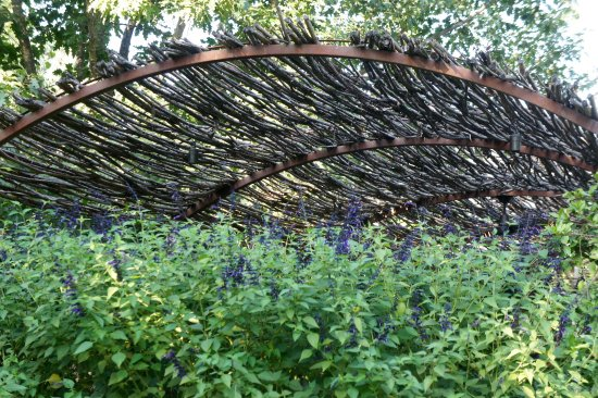 Rutherford, Kalifornia: Trellis in Garden