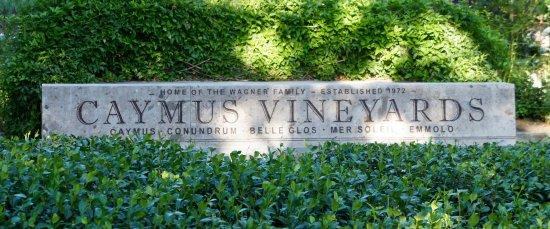 Rutherford, Kalifornien: Sign in Garden Area